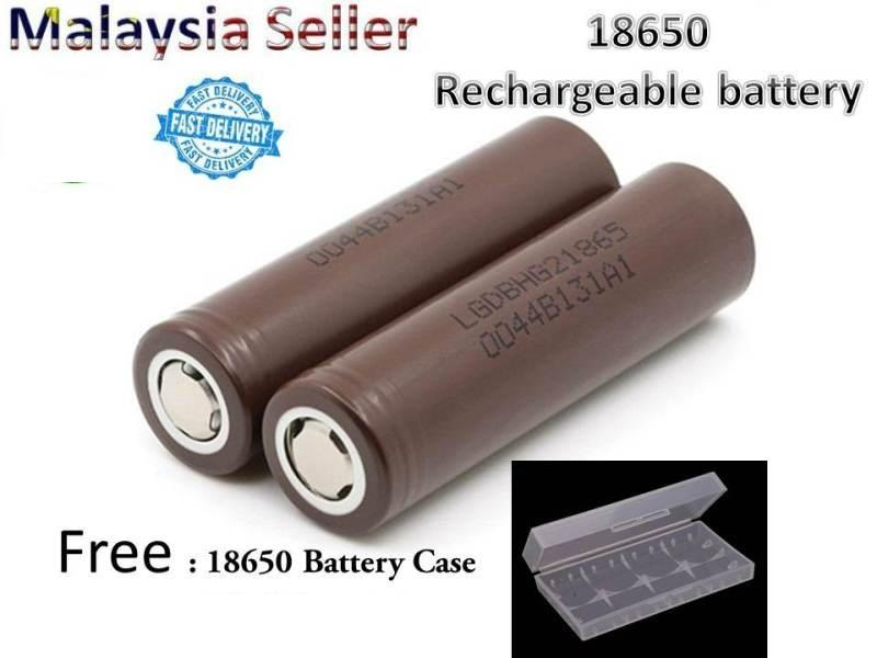 LG HG2 18650 Battery 3000mAh for Vape Vapor Touch Light E-Ciragette