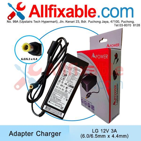LG LCD TV 12V 3A  W2284F W2486L Adapter Charger