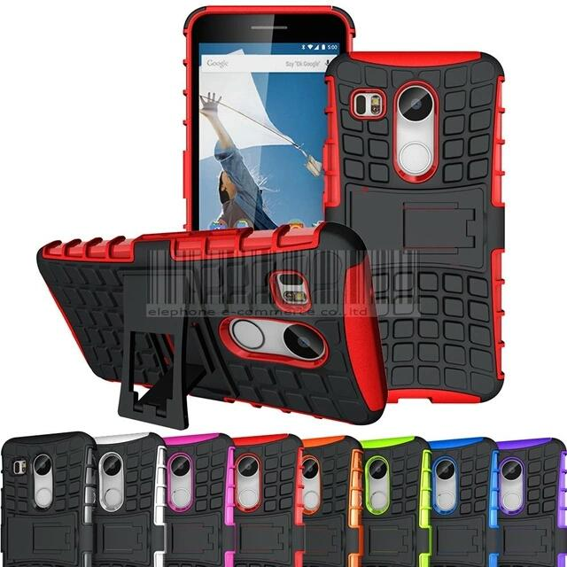 the best attitude 57ccd 49863 LG nexus 5X back cover case with stand.
