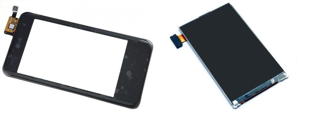 LG Optimus 2X P990 Display Lcd / Digitizer Touch Screen Repair Service