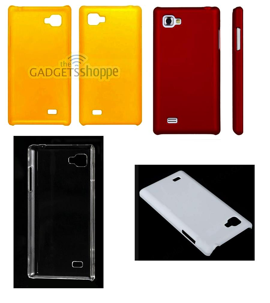 LG OPTIMUS 4X P880 HARD PLASTIC PLATE CASE