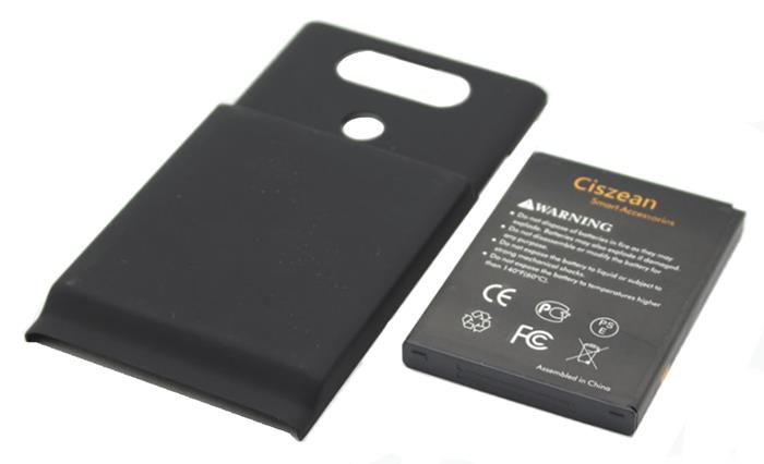 LG V20 BL44E1F 6400MAH EXTENDED BATTERY WITH BACK COVER