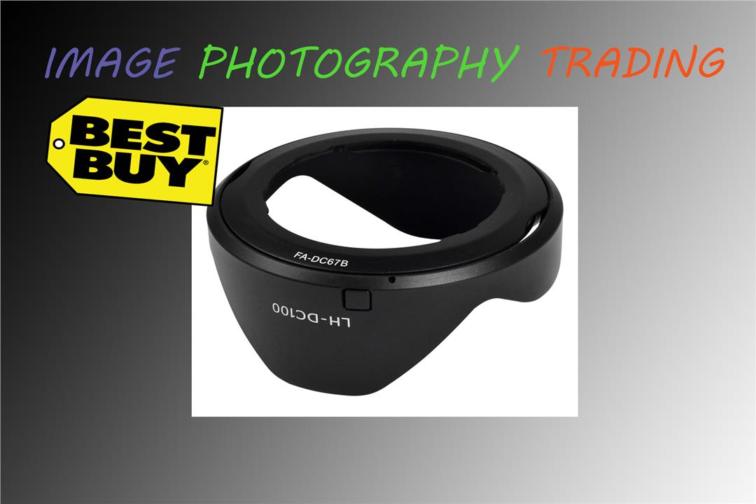 LH-DC100 Lens Hood & Filter Adapter Kit for Canon PowerShot G3 X