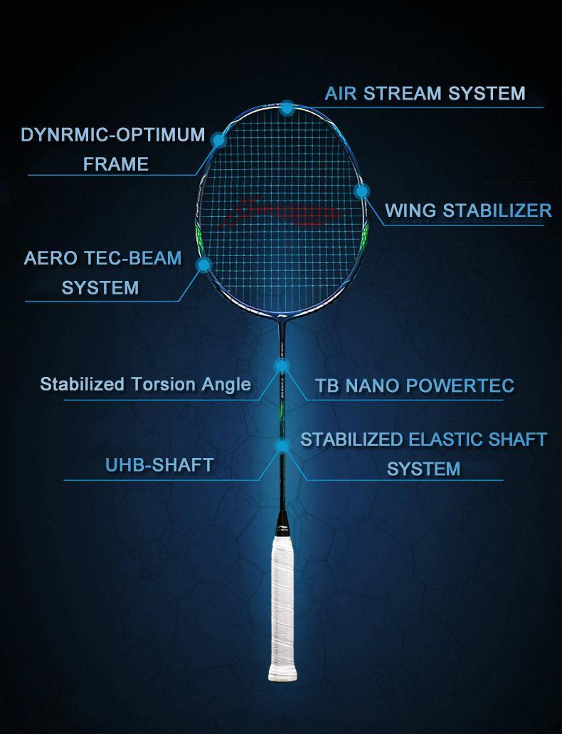 LI-NING AIR STREAM N99 CHEN LONG EDITION 21-30LB HI SPEC Racket GIFT