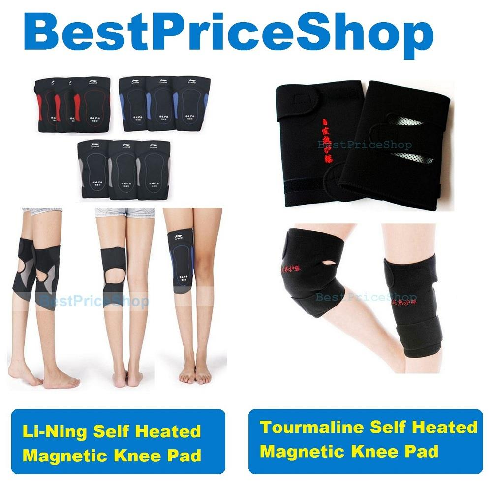 Li-Ning Premium Tourmaline Self Heated Magnetic Healing Knee Therapy