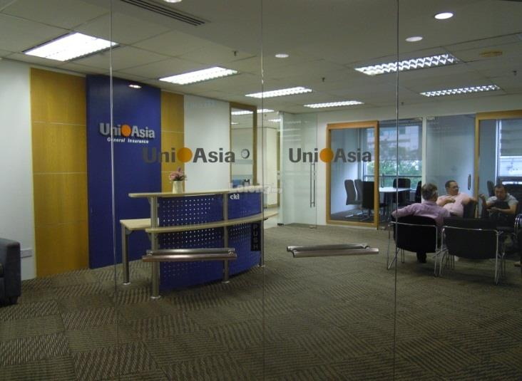 Liberty Tower (FKA Menara Uni Asia) office, Jalan Sultan Ismail, KLCC