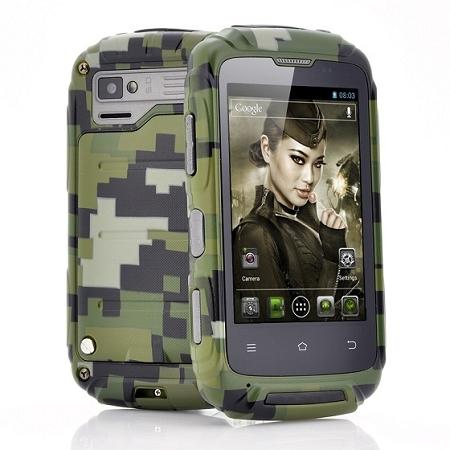 """Lieutenant"" Dual Core Rugged Mobile Phone (WP-T11)."