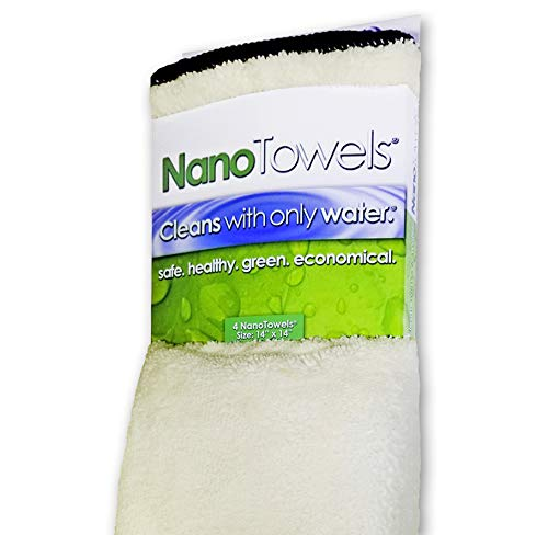 Life Miracle Nano Towels - Amazing Eco Fabric That Cleans Virtually Any Surfac
