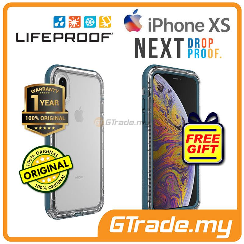 Lifeproof Next Shield Case Apple Iphone Xs X Clear Lake *Free Gift