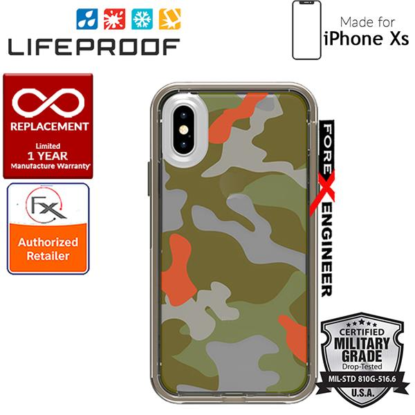 newest 14cc5 44169 Lifeproof SLAM Graphic for iPhone X / Xs - Woodland Camo