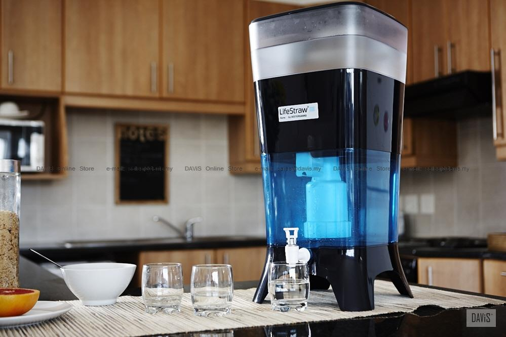 LifeStraw Home Counter Top Purifier Water Filter System with Tap