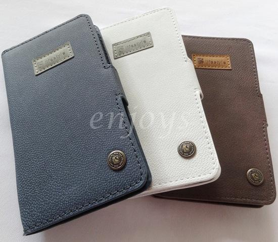 Lifestyle CARD Leather Case Pouch Cover Samsung Galaxy Note II N7100