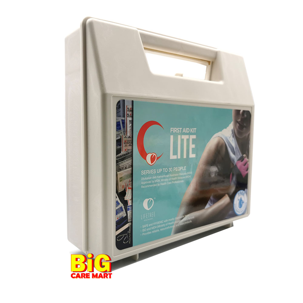 Lifetree  First Aid Kit Lite (59 Items)