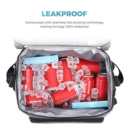 Lifewit Collapsible Cooler Bag 32-Can Insulated Leakproof Soft Cooler Portable