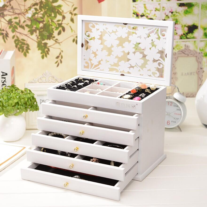 Lift Top Luxury Wooden Jewelry Case end 1152018 115 PM