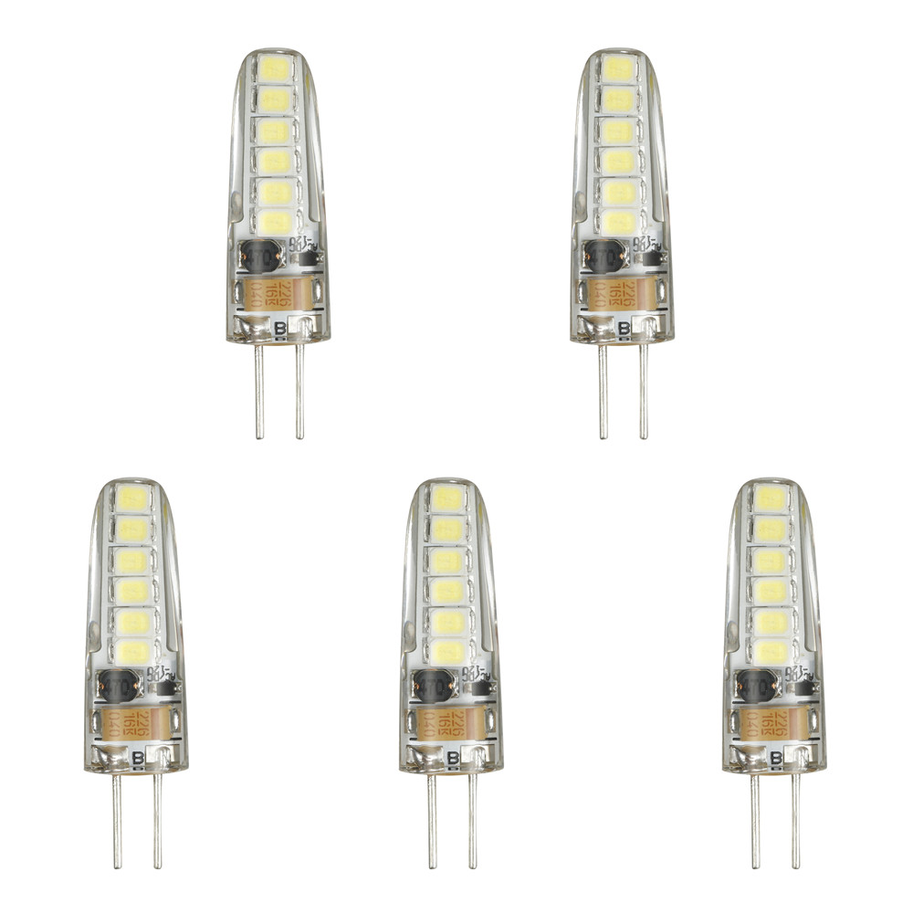 Light Bulbs - 5 X Lights - 5pcs 3 W G4 Led Bi-pin Lights 12 Led Smd 28..