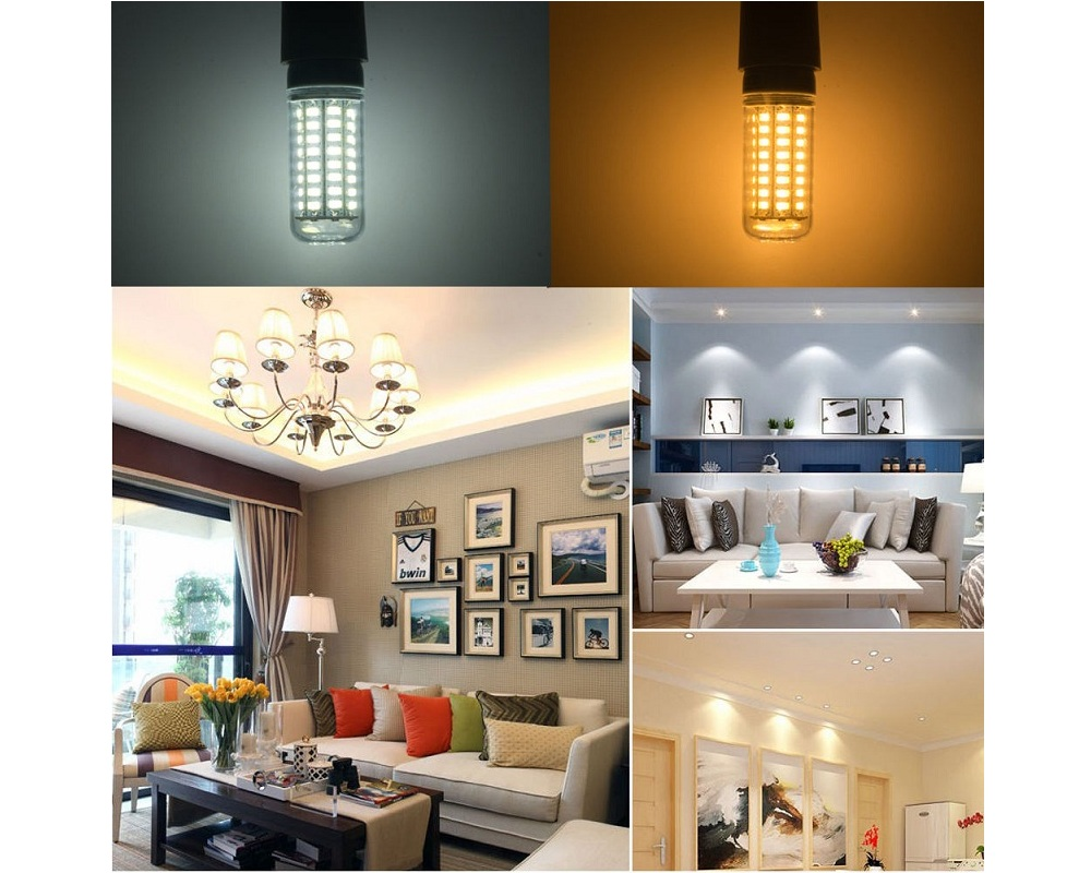Light Bulbs - Led Corn Bulb - E27 Led Lamp 220v Light Corn Bulb Smd573..