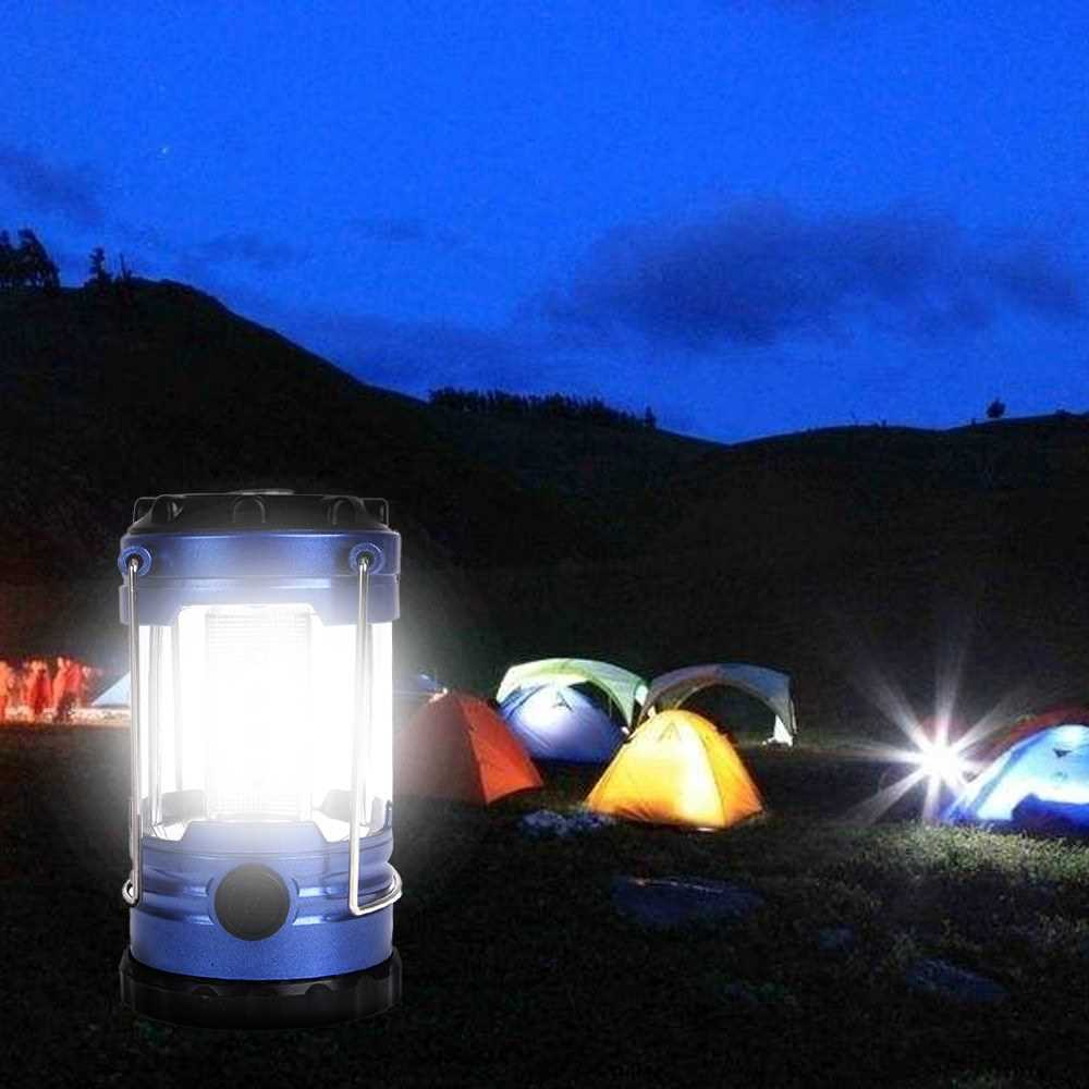 Lightweight 12 LED Bivouac Camping Hiking Riding Tent Lantern Portable