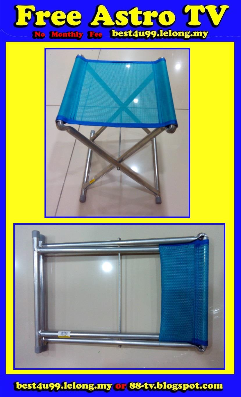 Lightweight folding picnic chair camping fishing travel old man womem