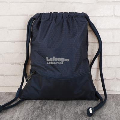 Lightweight Waterproof Drawstring Backpack - Black   Handbag. ‹ › 7ed843998
