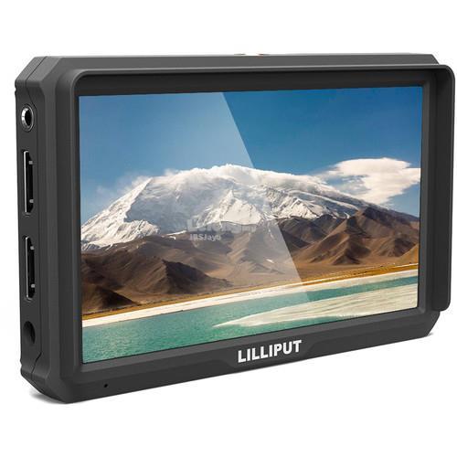 Lilliput A5 5 inch FHD 1920x1080 4K HDMI On Camera Field Monitor