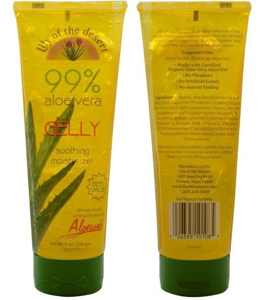 Lily of the Desert, 99% Aloe Vera Gel (228 g) (USA)