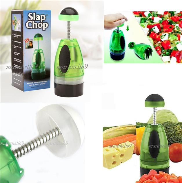New! LIMITED ECO GREEN SLAP CHOP.The Perfect Chopper for Your Kitchen