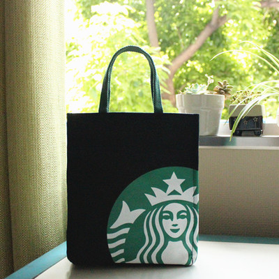 Limited Edition Authentic An Starbucks Tote Bag Black