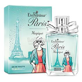 Limited edition Enchanteur Paris Magique Eau de Toilette/minyak wangi