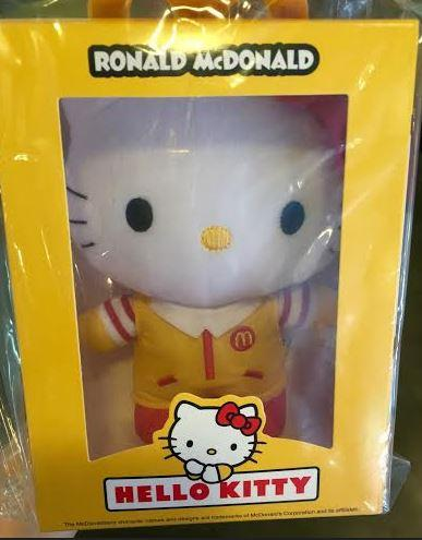 Limited Edition McDonald Hello Kitty Original from Indonesia McDonald