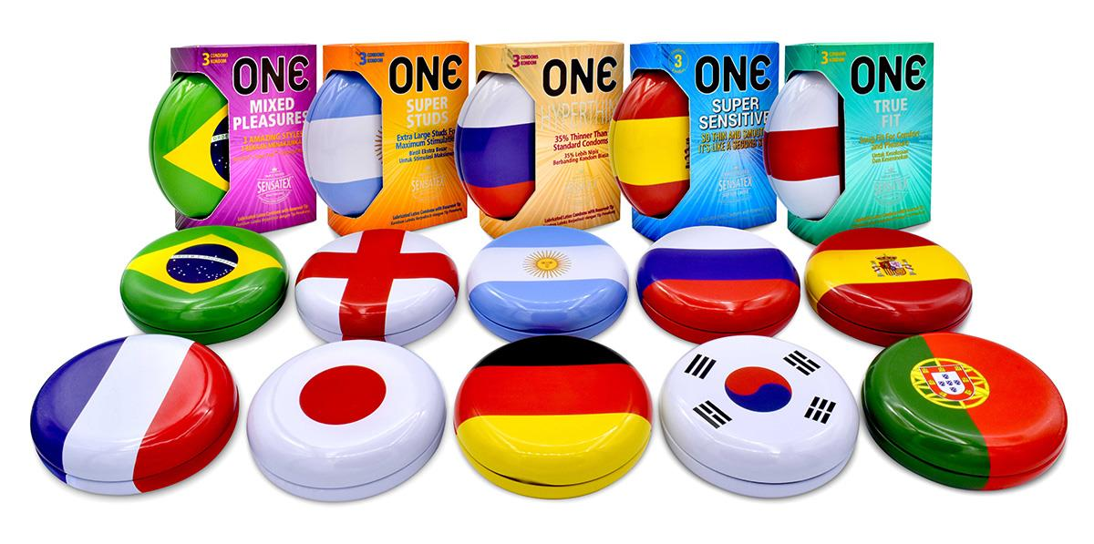 Limited Edition One Condom 5-In-1 Set (Total 15 Condoms + 5 Tins)