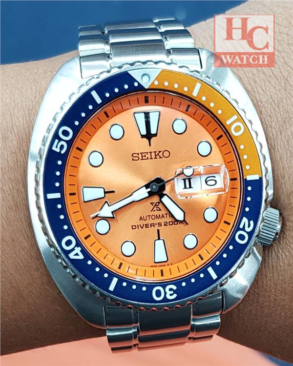 NEW LIMITED EDITION SEIKO NEMO TURTLE SRPC95K1  DIVER WATCH