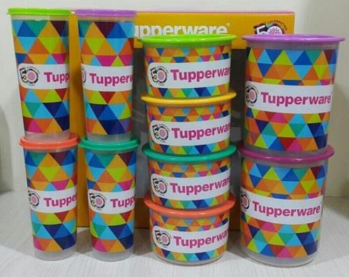 Tupperware freezermate set (16pcs / limited edition).
