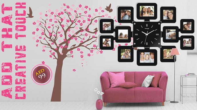 Limited Offer! Fashion Wall Clock wit (end 8/5/2019 5:31 PM)