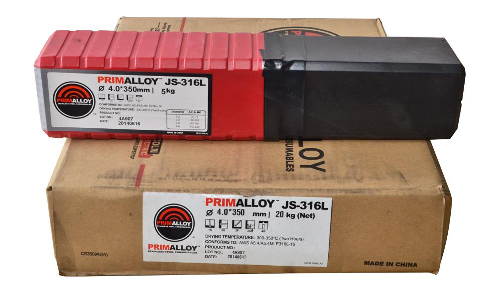 Lincoln Electric PrimAlloy JS-316L 4.0mm(20kg/Carton)