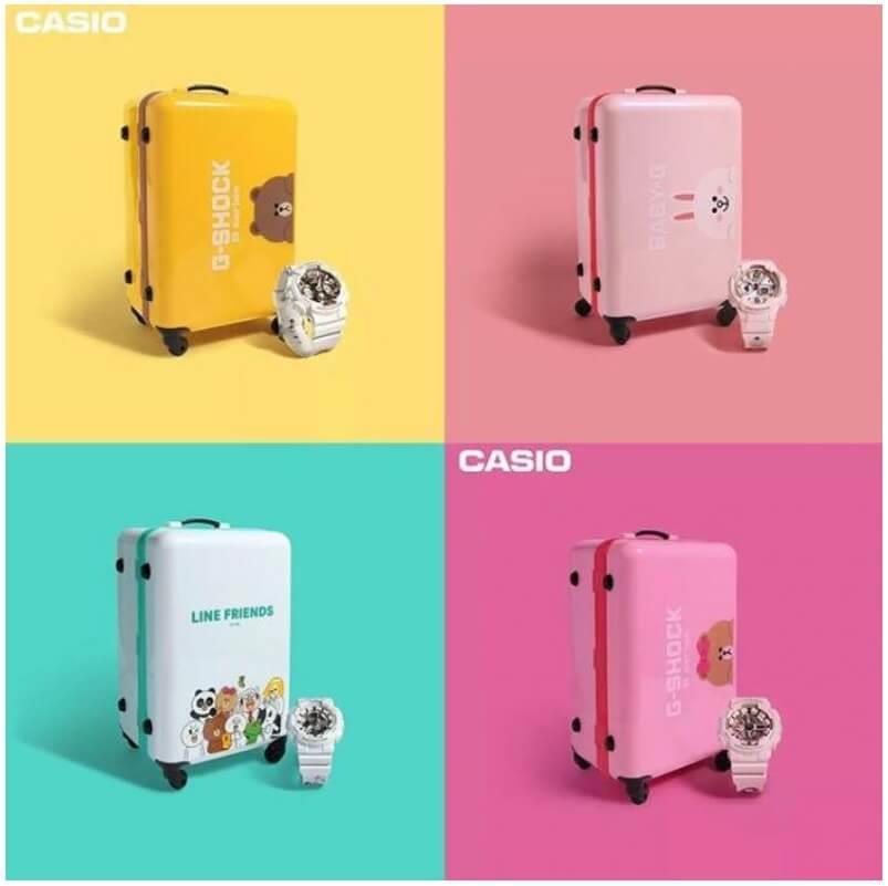ac71c46c6711 Line Friends x Casio G-Shock S Serie (end 8 14 2020 1 15 PM)
