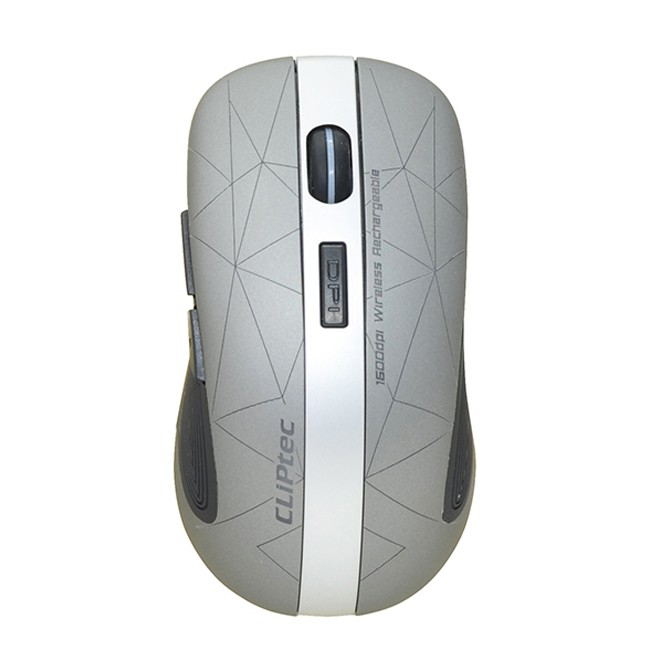 LINEPOLY 2.4Ghz 1600dpi Illuminated Rechargeable Wireless Mouse