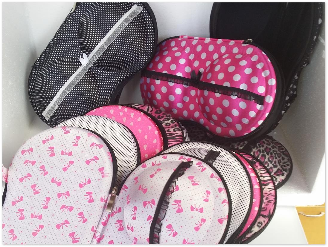 Lingerie Travel Case Bra Bag Case Underwear Socks Organizer Storage Bo