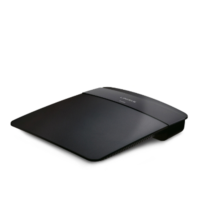 Linksys E1200-AP N300 Wi-Fi Router - Black
