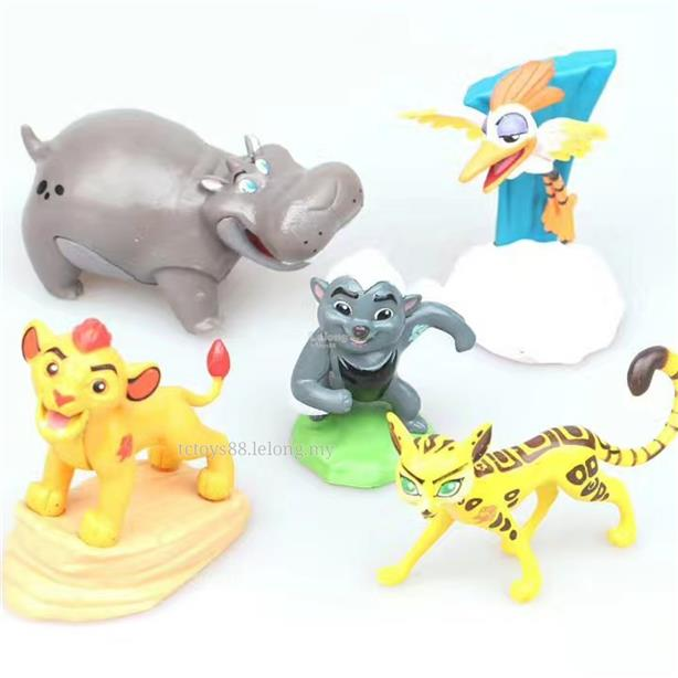 The Lion Guard Figures Toy Simba Zazu Kopa Cake Topper 5pcs Set