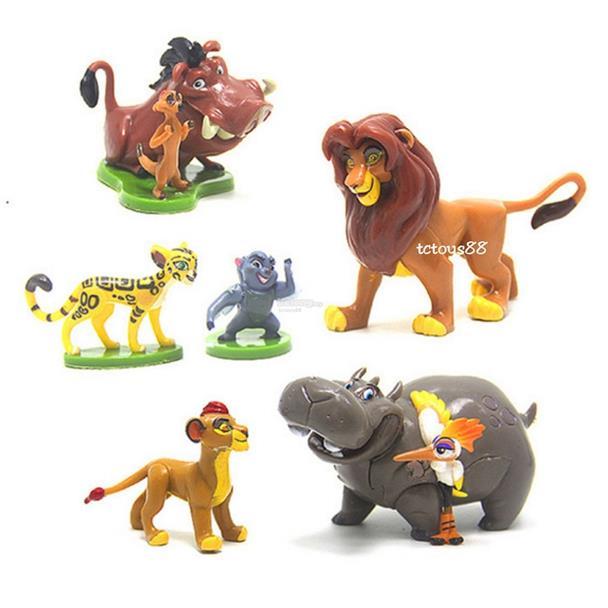 The Lion King Figures Simba Lion King Animal Toys Cake Topper Toys