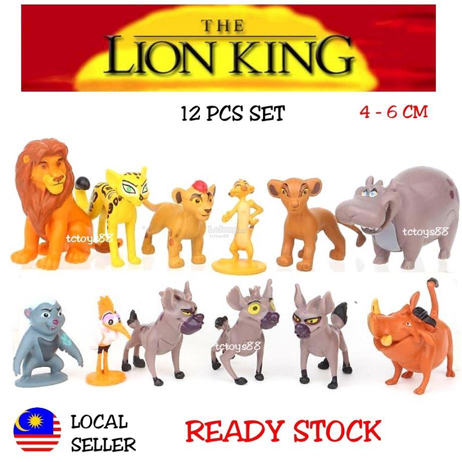 The Lion King Fiugre Lion King Figures Simba Animal Toys Cake Topper