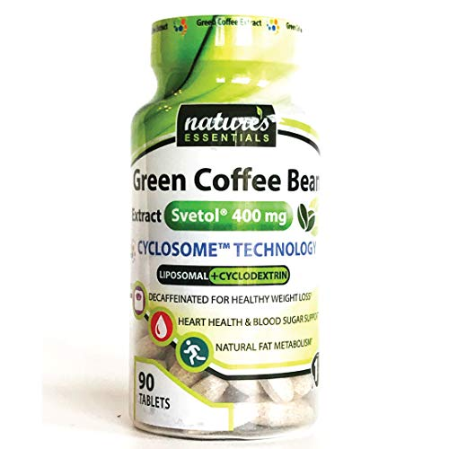 Liposomal Svetol Green Coffee Bean Extract | 400mg per Pill | Clinically Studi