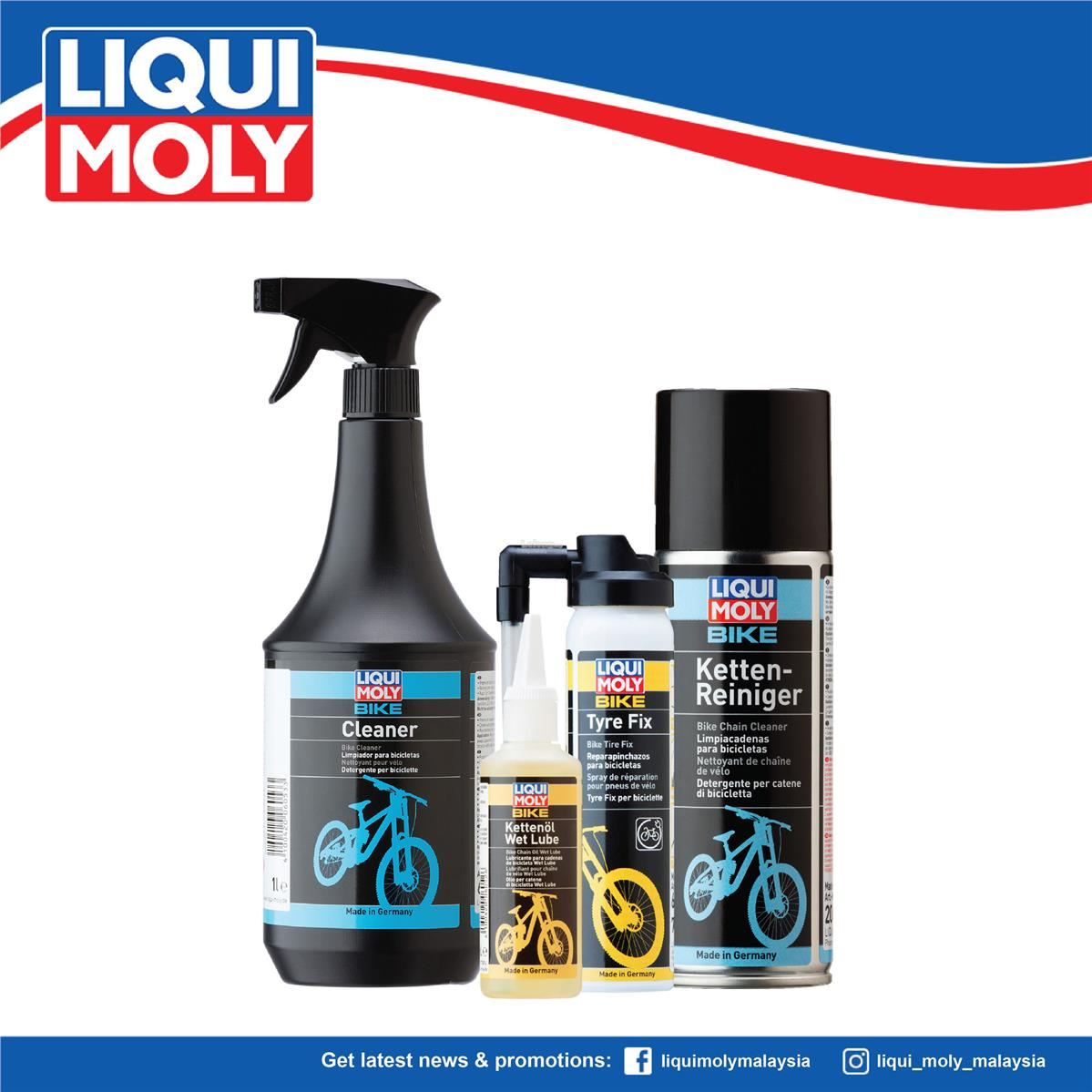 Liqui Moly Bicycle Care, 6054/6052/6053/6056