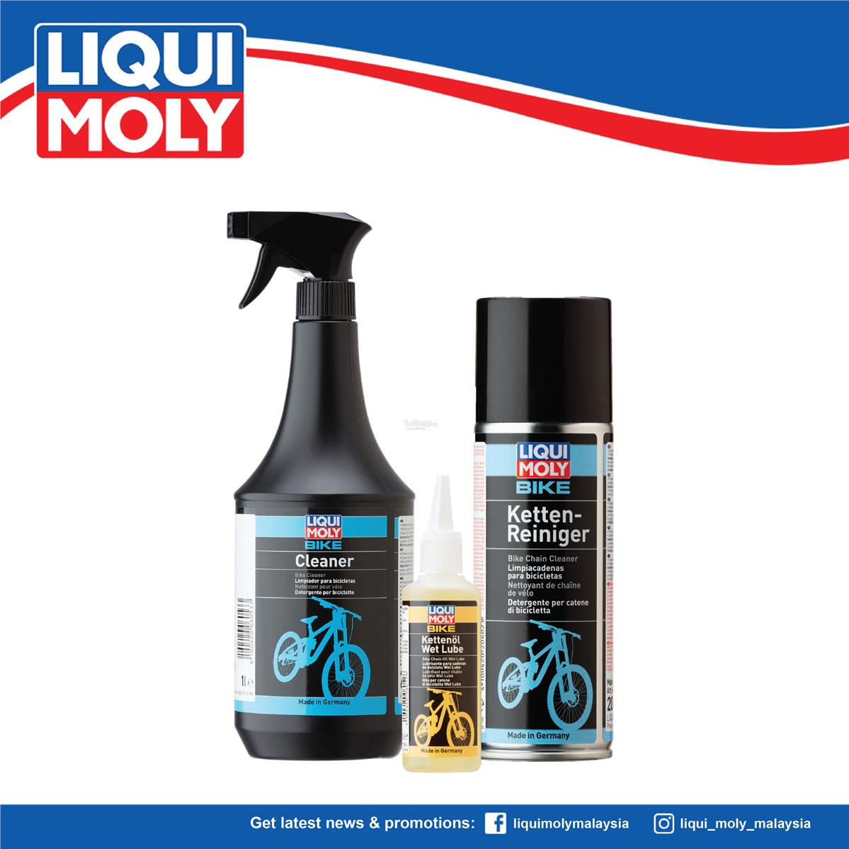 Liqui Moly Bicycle Care, 6054/6052/6053