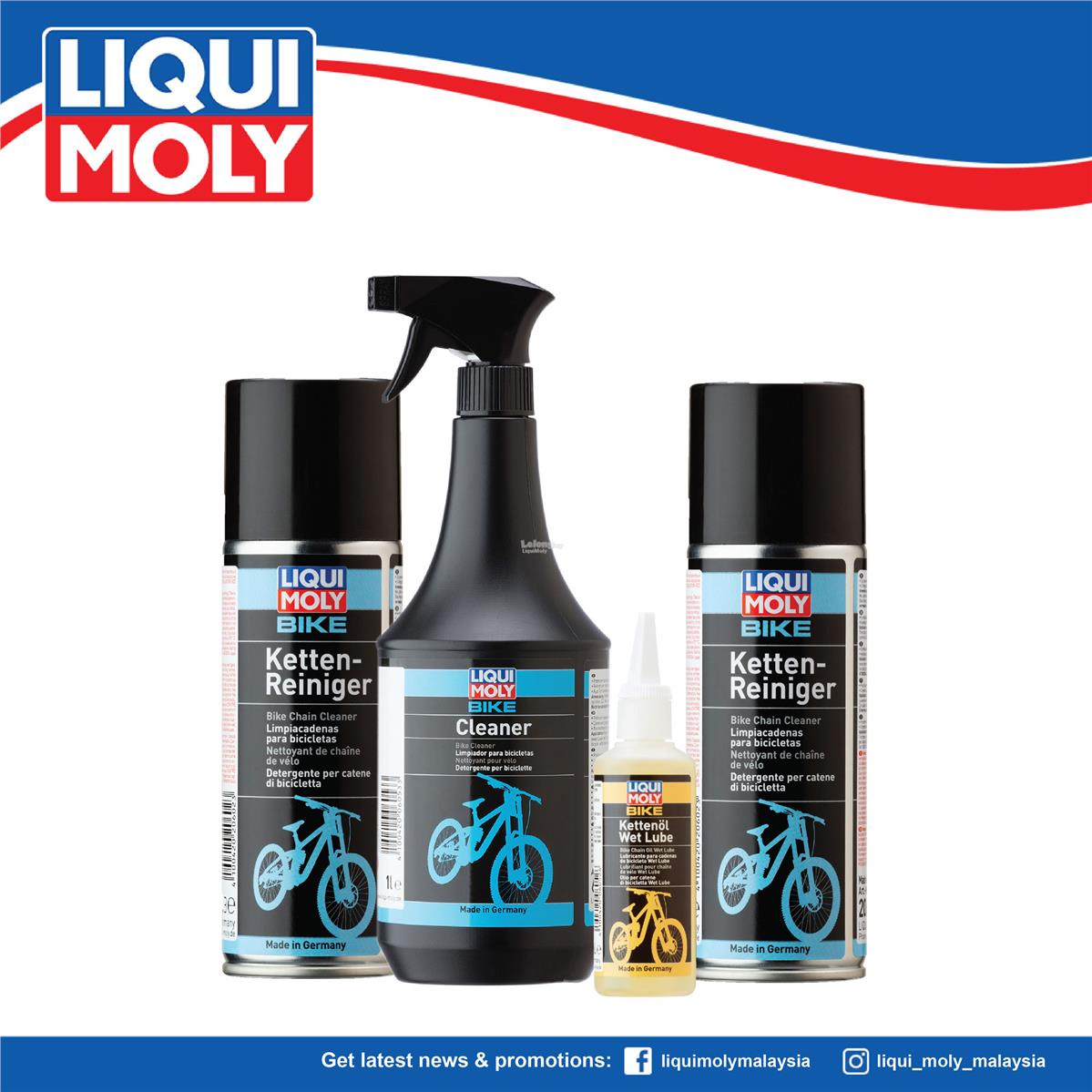 Liqui Moly Bicycle Care,  6054/6054/6052/6053