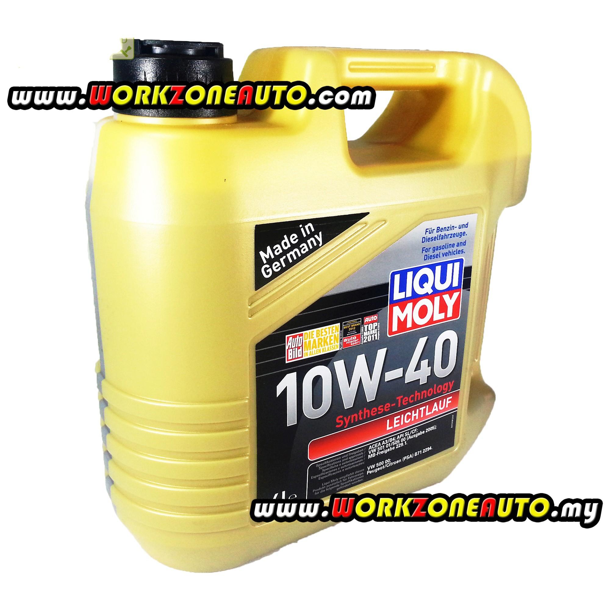 Liqui Moly Leichtlauf 10W40 Mineral Engine Oil 4L