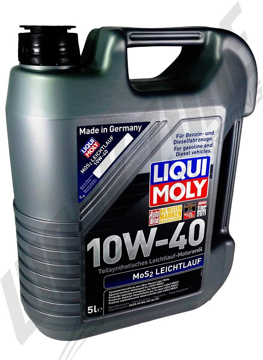 liqui moly 1310 leichtlauf motor l 10 w 40 5 liter. Black Bedroom Furniture Sets. Home Design Ideas