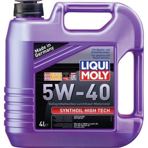 liqui moly synthoil high tech 5w 40 end 5 13 2017 11 21 pm. Black Bedroom Furniture Sets. Home Design Ideas