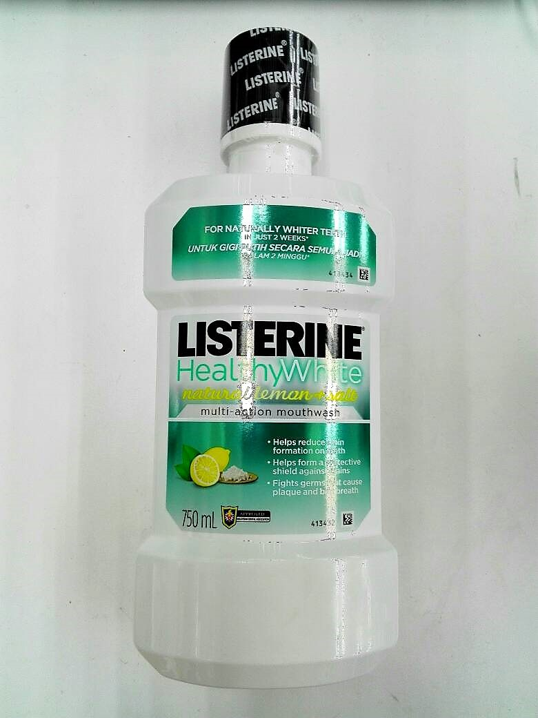 Listerine Healthy White Natural Lemo End 6 29 2020 7 17 Pm